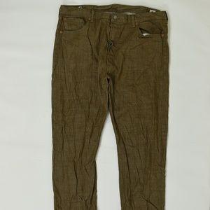 Levi's Jeans - Levis Regular  Brown 42x30 501 Cotton Solid